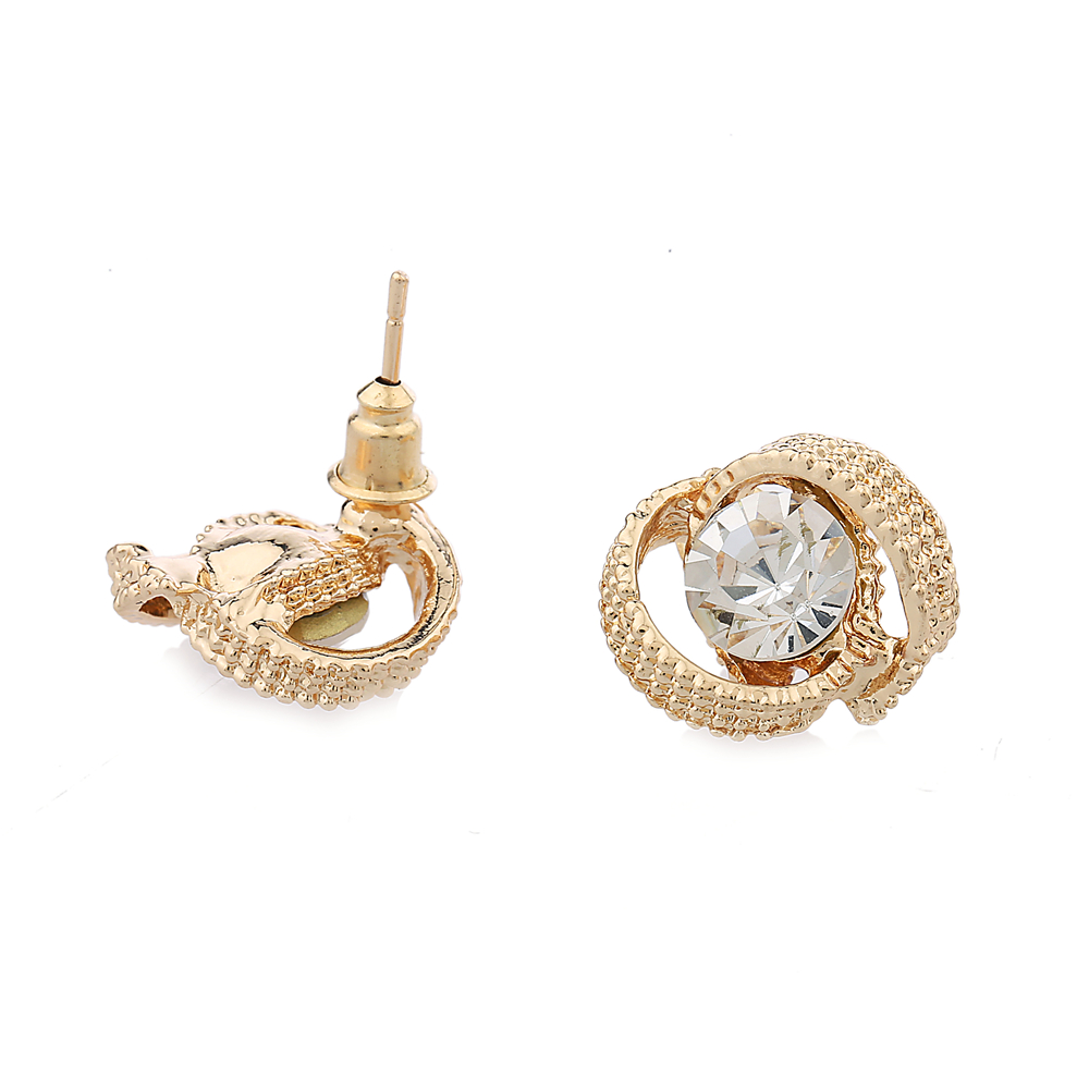 Innovative Gold Stud Earrings For Women Gold Studs For Women  Justteracom