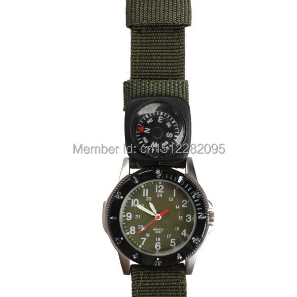 Compass Watch Strap Army Wrist Watch Compass