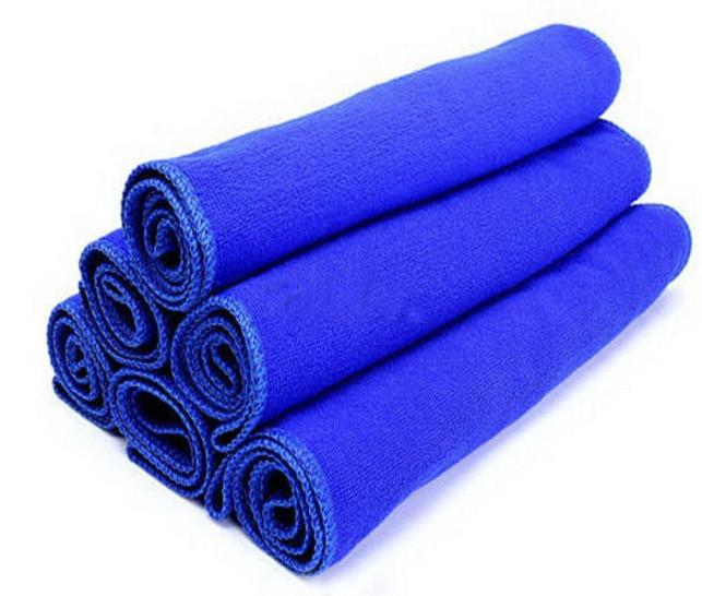 Tiptop New 30*30cm Soft Microfiber Cleaning Towel Car Auto Wash Dry Clean Polish Cloth OCT21(China (Mainland))