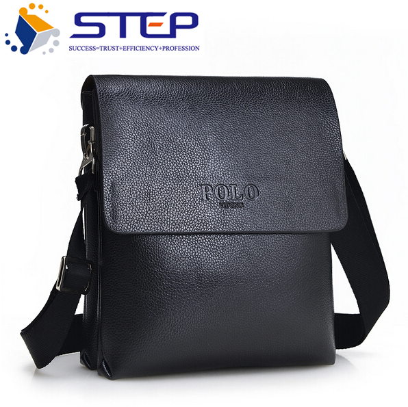 2016 Spring New Arrival Men Messenger Bags High Quality Leather Men Handbags Black and Brown Special Offer Big Discount M248(China (Mainland))