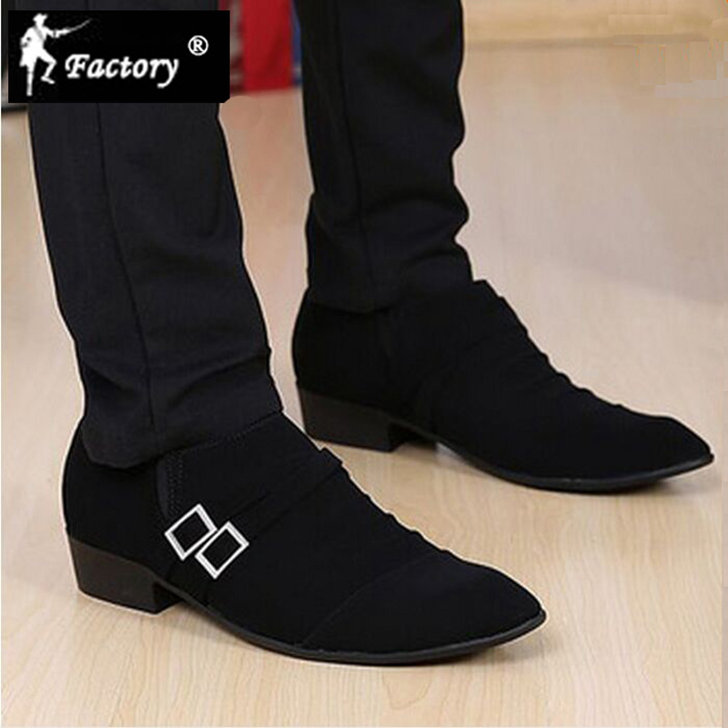 BJ Factory brand New arrival 2015 men pointed toe leather shoes fashion scrub men's oxfords shoes for men's dress wedding shoes(China (Mainland))