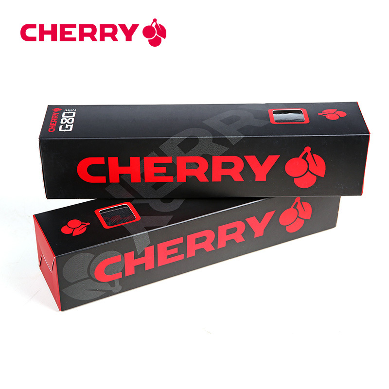 Discount Cherry Gaming Mouse Pad / Black Mouse Mat For e-Sport LOL / DOTA Free Shipping(China (Mainland))