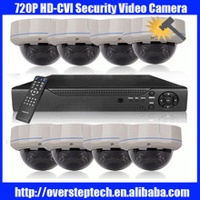 Dahua Analog 8CH 720P HD CVI CVR kit with waterproof Dome Camera,support Android phone&iPhone access