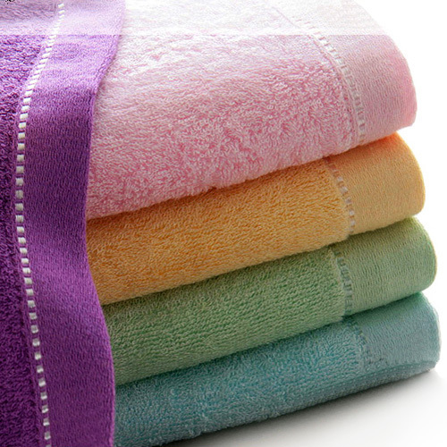 4pcs Bamboo Fiber Face Towel Soft Bath Sheet Towel Hand Towels(China (Mainland))