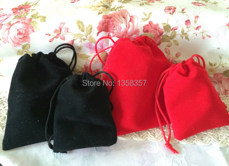 Direct Manufacturer high quality drawstring velvet bag for mobile phone\HDD accessories gift jewelry pouch wholesale(China (Mainland))