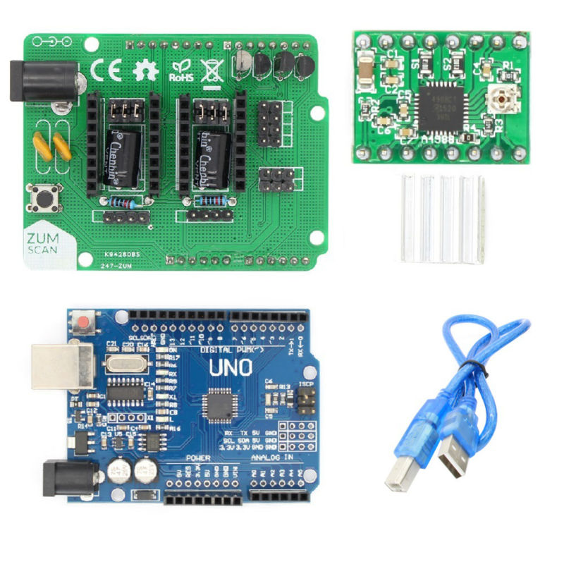 Ciclop 3d scanner DIY accessories UNO R3 Board controller with USB cable ZUM Scan Expansion board search on aliexpress com by image  at mifinder.co