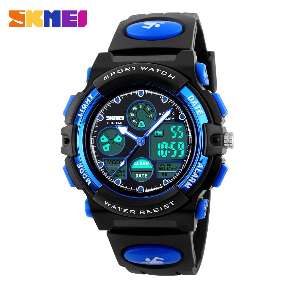SKMEI Fashion Cute Children Watch Led Display Digital Watches Relogio Quartz-Watch Electronic Wristwatches Kids Sports Watches(China (Mainland))