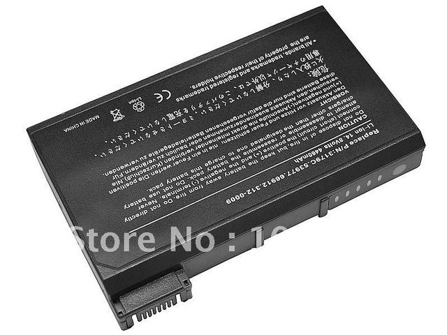 8-cell Battery for Dell Latitude C840 CPI C500 C640 CPX