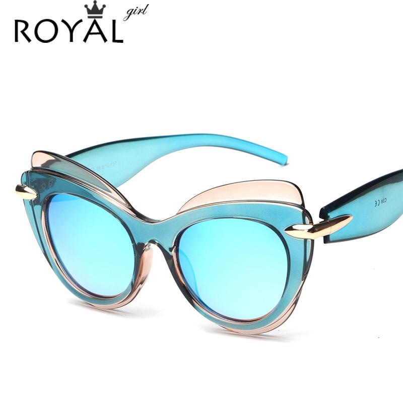 Large Frame Non Prescription Glasses : Aliexpress.com : Buy ROYAL GIRL Fashion Cat Eye Sun ...