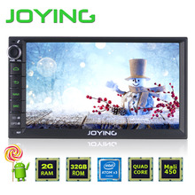 "2GB+32GB 7"" Double 2 Din Android 5.1 Universal Car Auto Radio Steering wheel control JOYING Quad Core 1024*600 HD media player(China (Mainland))"