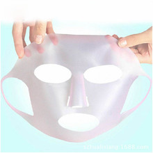 1Pcs High Quality Beauty Hydrating Mask Cover Silicone Moisturizing Mask Face Care Tool Locking Nutrition
