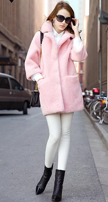 2014 new coltsfoot fur coat Beaver rabbit wool top coat female long Одежда и ак�е��уары<br><br><br>Aliexpress