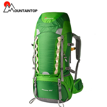 60l Internal Frame Long Haul Climbing Bag CR Carrying System Terylene Material Unisex Travel Camping Outdoor Sport Backpack(China (Mainland))