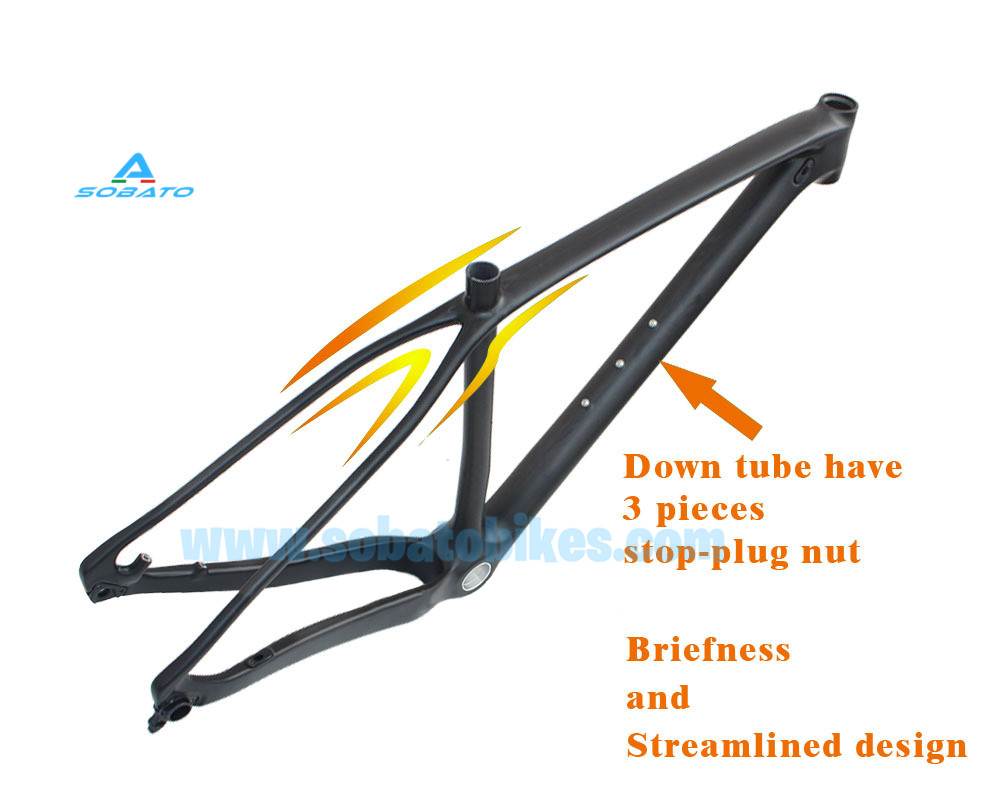 Free Shipping Top Quality Iight Weight Mtb Carbon Frame 29er 142*12 Tru Alex MTB Carbon Bike Frame 29er(China (Mainland))