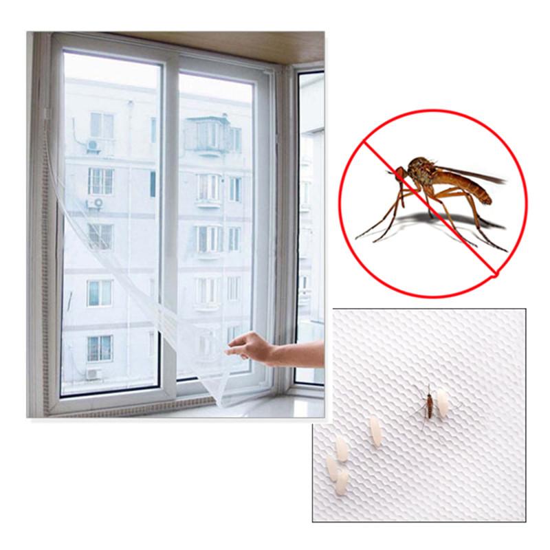 Комаров окна сетки новый 200 x 150 см diy летать занавес нас.