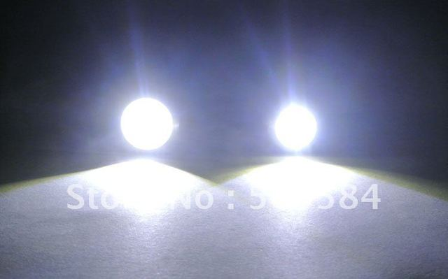 4 x 9W 12V car led reversing light eagle eye lamp Backup Stop Tail daytime running light White Color