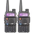 2 Pieces lot Brand New Baofeng UV 5R Interphone VHF 136 174 MHz UHF 400 520