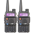 2 Pieces lot Brand New Baofeng UV 5R Interphone VHF 136 174 MHz UHF 400 520
