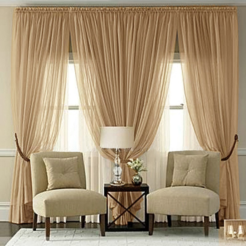 2016 Classic Sheer Curtains For Living Room The Bedroom