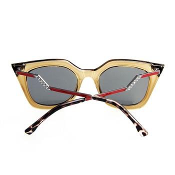 Okulary przeciwsłoneczne damskie kocie modne różne kolory