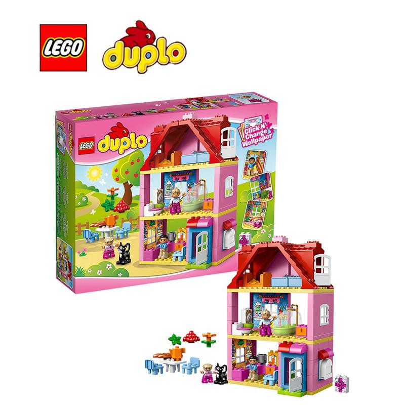 Construire lego maison achetez des lots petit prix for Modele maison lego