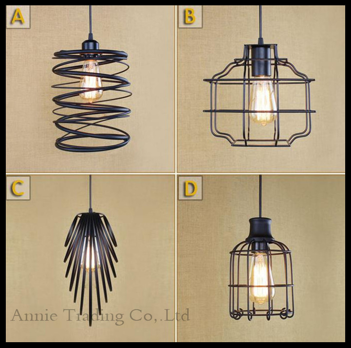 2015 New Design Art Deco Pendant Light Industrial Restaurant Shop Store Lamp Dining Room Kitchen Bar Iron hanging Lamps(China (Mainland))