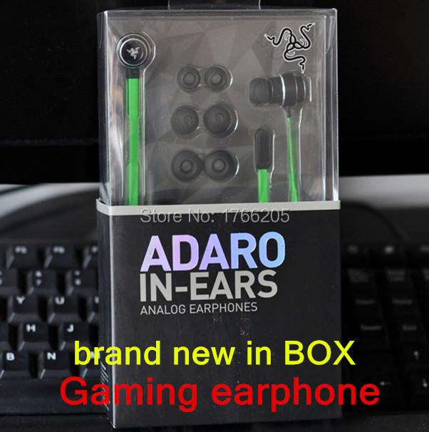 Razer Adaro in-Ear. Gaming earphone, gaming headset, Hammerhead Pro Ear Earphone&Headphone Retail Box Isolation Stereo Bass - Love the beauty of shop store