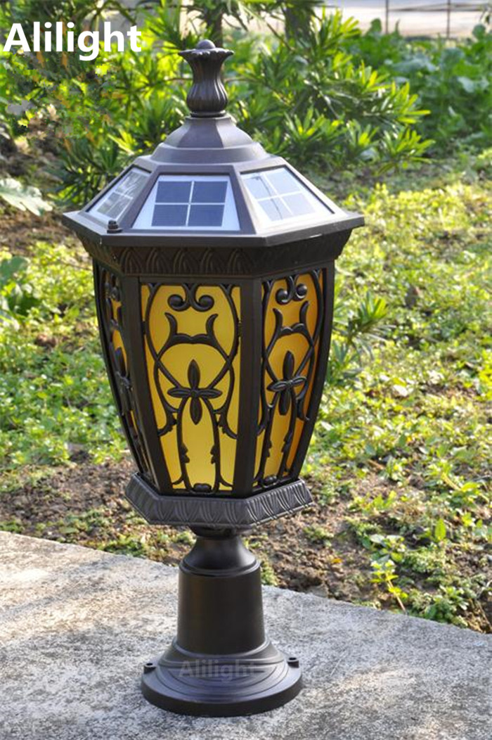 Compare prices on outdoor light post online shopping buy for Fixture exterieur