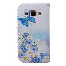 Buy SM-J100F SM-J100 Phone Case Leather Card Slots Flip Stand Coque Samsung Galaxy J1 2015 J 1 100 J100 J100F J100H J100FN Case< for $4.13 in AliExpress store