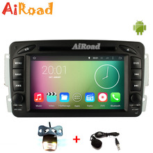 Free Camera Free Map Quad Core 1024*600 Android Car DVD GPS for Mercedes W203 W209 CLK W163 W168 W463 W639 Viano VITO Sprinter