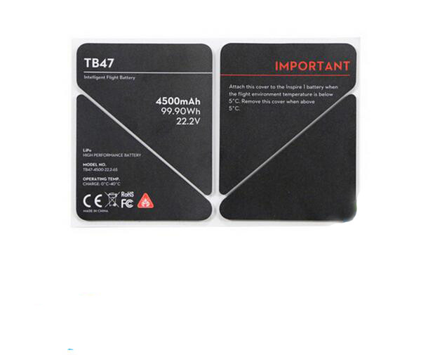 DJI Inspire 1 TB47 / TB48 / EVA Battery Insulation Sticker DJI Accessories Spare Parts High Quality 4500mAh 5700mAh