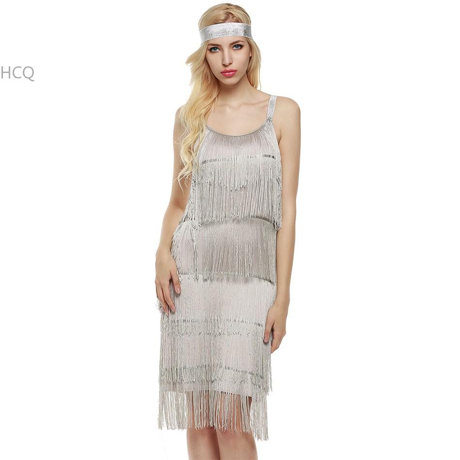 Fringe Spaghetti Strap Dress Fashion Style Women Sleeveless Beach Dress Flapper Costumes for Ladies Women Female Clubwear 41(China (Mainland))