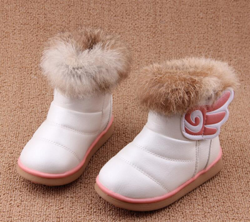 Top Brand Children Boots 2016 Winter Shoes Boys & Girls Waterproof Slip-resistant Kids Snow A66 - Guangzhou store