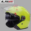 Free shipping genuine LS2 OF 578 detachable dual lens motorcycle helmet full helmet chin combination half