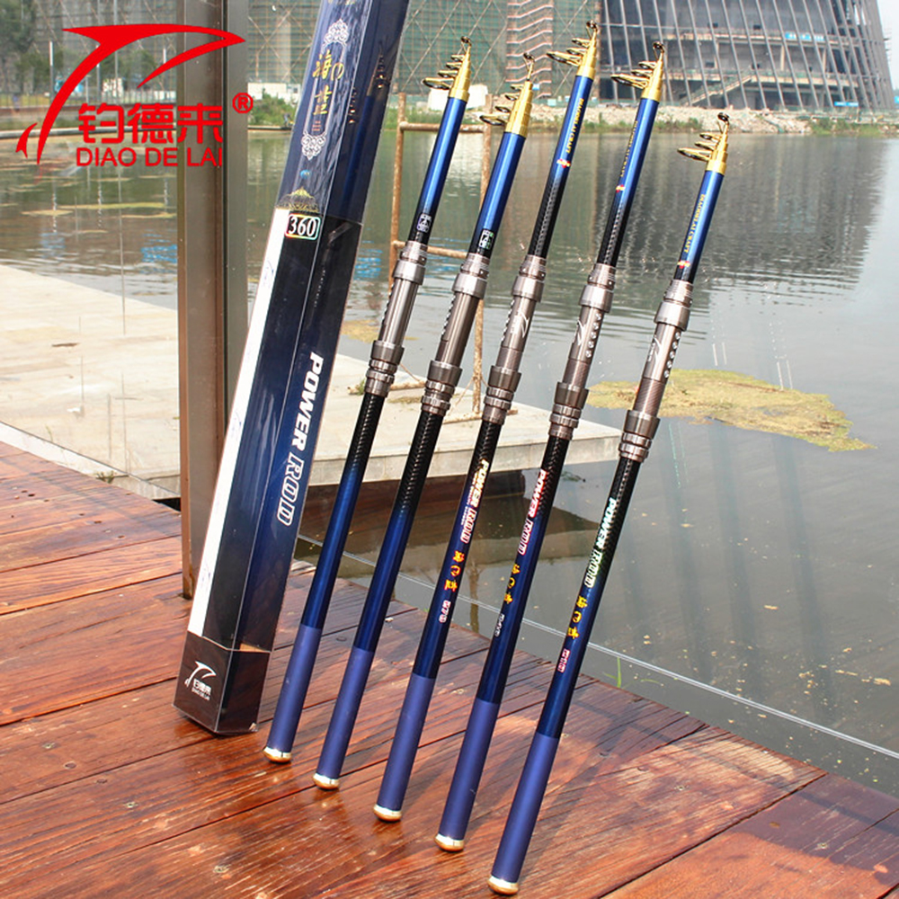 Top Quality Casting Rod Hard Carbon Fiber Telescopic Fishing Rod for Carp Boat Rock Feeder Fishing Tackle 3.0m(China (Mainland))
