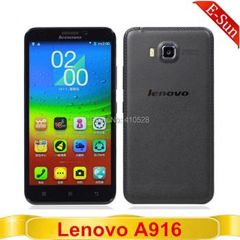 """Оригинальный смартфон Lenovo A916 (MTK 6592m, 8 ядер, 1Гб Озу, 8Гб, две сим-карты, 13Мп, 5.5"""" HD-дисплей, FDD LTE)"""