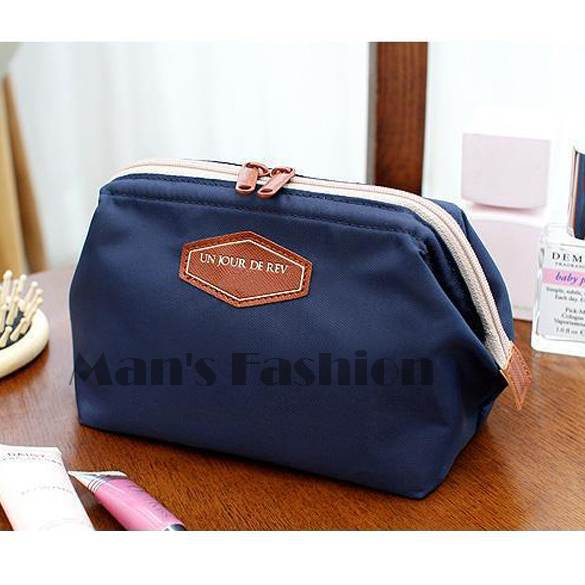 2014 New Fashion Cute Beautician 4 Colors Women's Lady Travel Makeup bag Cosmetic pouch Clutch Handbag Casual Purse #2 SV002470 - BEST-Fashion store