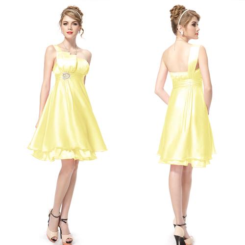 Короткие специальный платья 03229 тех довольно нью-стразы одно плечо оборками короткое ...