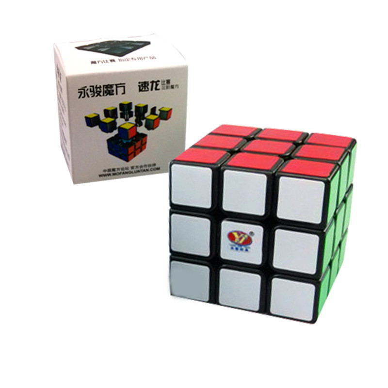 Гаджет  Yungjun Moyu SuLong 3x3x3 56mm Puzzle Speed Magic Cube Educational Toy Special Toys challenging toys MF040 None Игрушки и Хобби