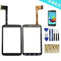 For HTC Wildfire S G13 touch screen digitizer version V3 Front Panel Outer Glass Digitizer Replacement