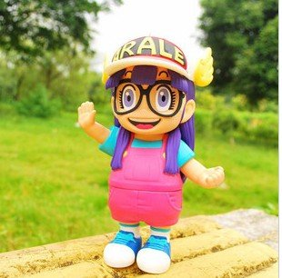"Cosplay Arale-Pink/Blue cartoon toys, japan animal children plush doll, cosplay toys - Arale Toy NINE DRAGON FUN FACTORY cn- ""WE MAKE FUN"" store"