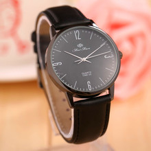 FeiFan High end Men Women Watch 2015 New Fashion High Quality Leather Business Casual Watch Analog