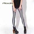 Plardin New Arrival Sexy Slim Women 2016 Designed Digital Printed Leggings Free Shipping Plus Size S