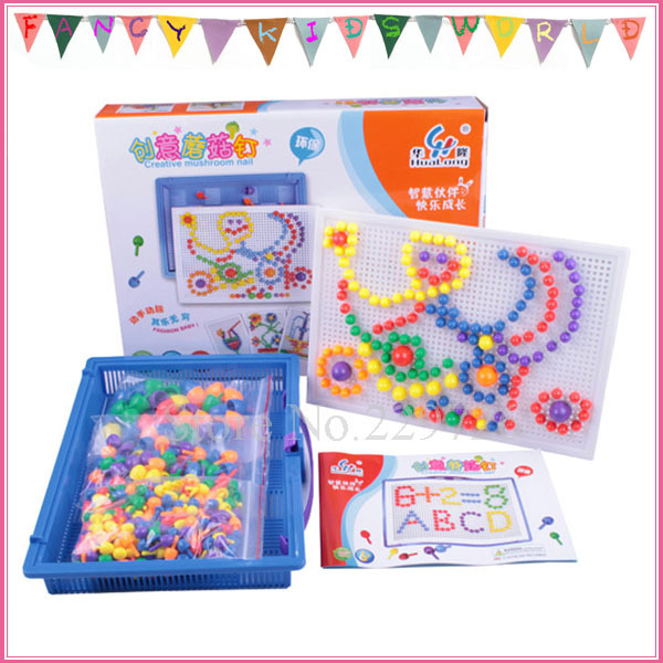 Great Educational Toys : Pcs plastic peg board puzzle toy great educational