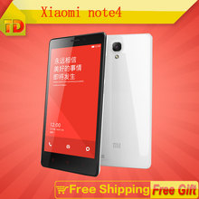 Xiaomi Redmi Note 4G LTE Original Mobile Phone Red Rice Note Qualcomm Quad Core 2GB RAM 8GB ROM 5.5″  Free Shipping