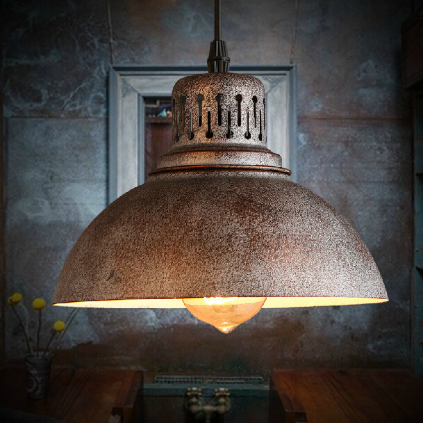 Здесь можно купить  Edison Bulb Freely Industrial Iron Lighting Retro Lampshade Antique Lamp Personality Scrap metal Pendant Light  Свет и освещение