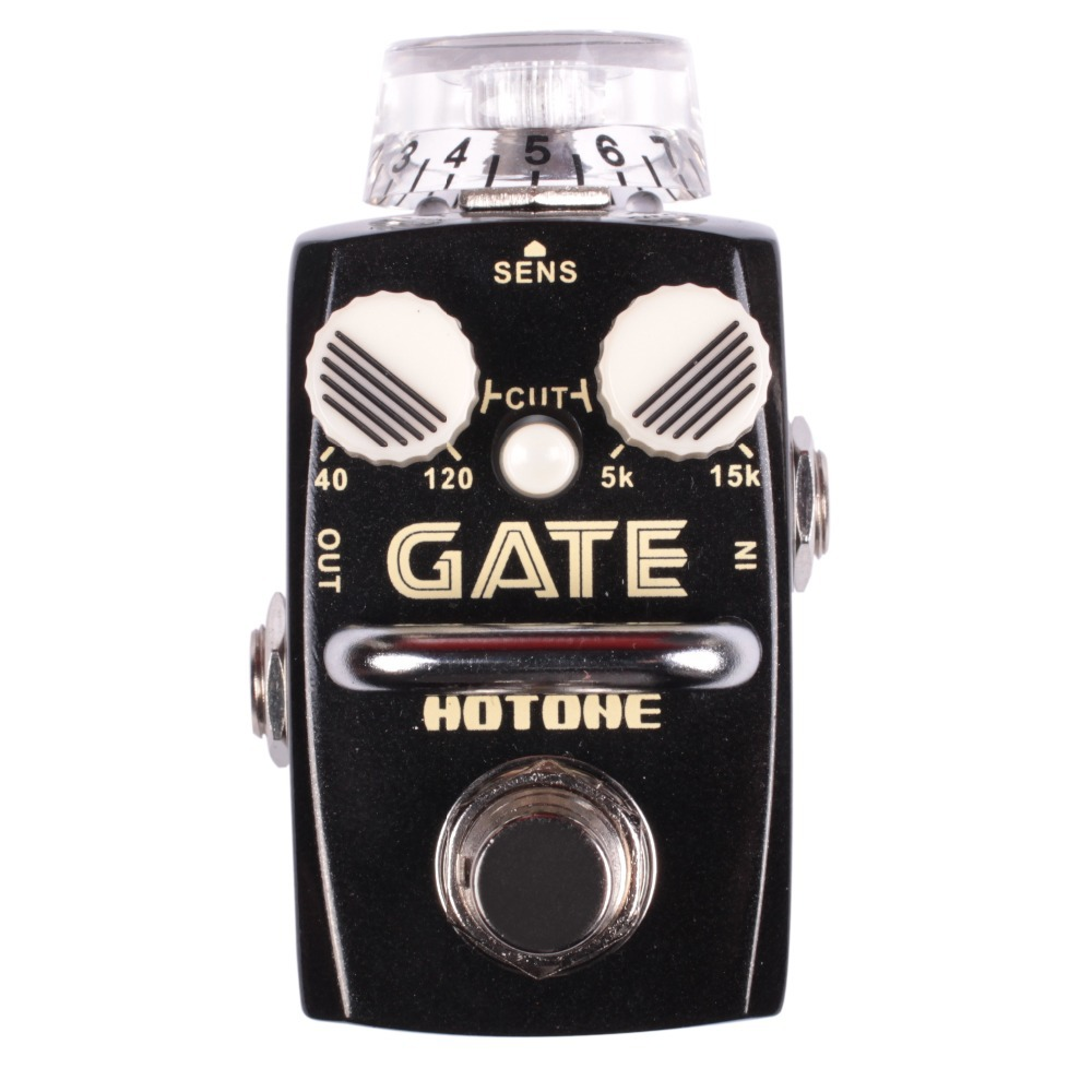 Hotone GATE Noise Reduction Electric Guitar Effect Pedal / low cut filter high cut filter keep noise and hum away(Hong Kong)