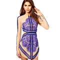 Three Floor Style Womens Celeb Style Eyelash Lace Mesh Mini Long Sleeve Dress L01