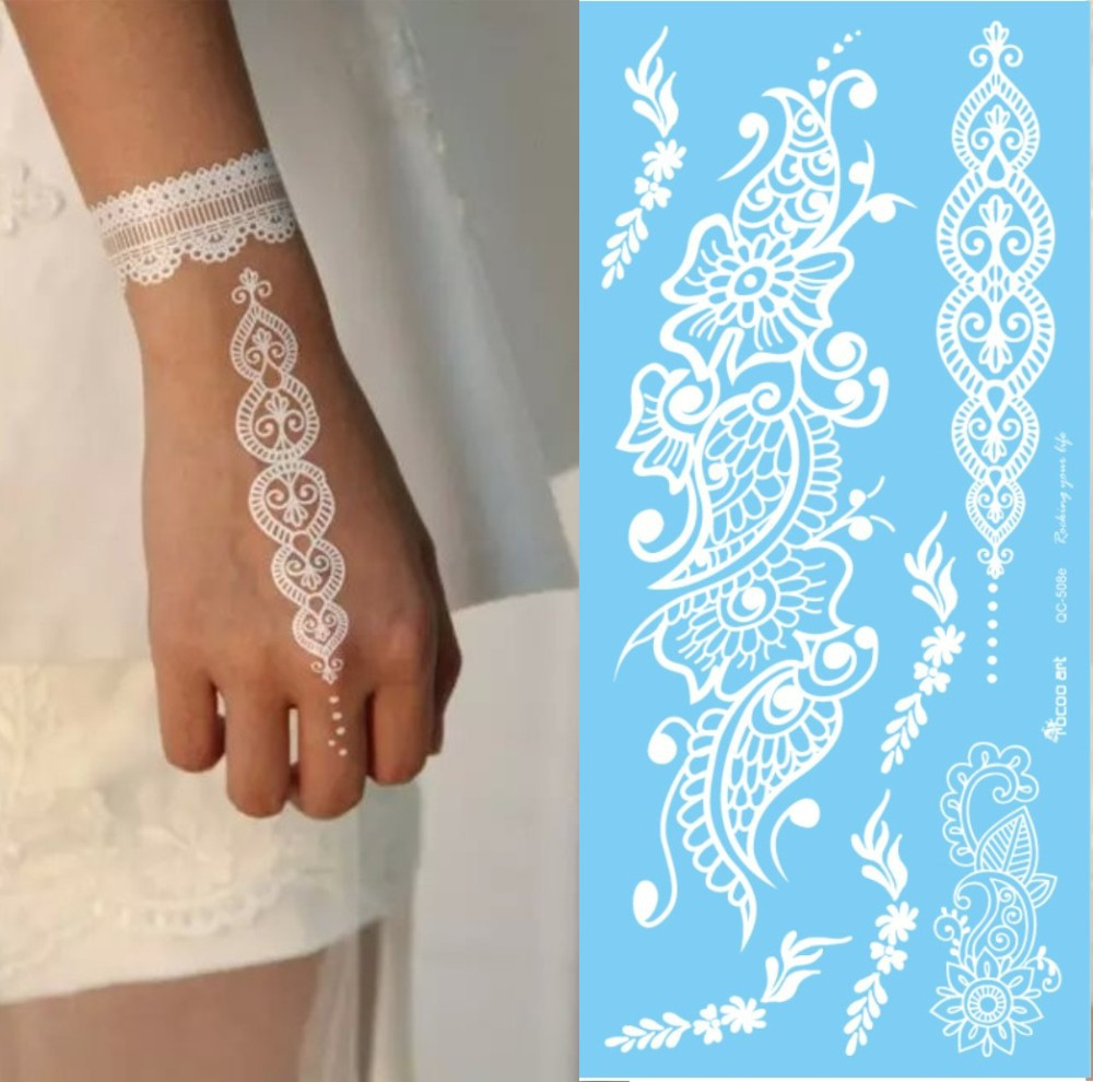New Henna Paste India Henna Flowers Body Painting Temporary Tattoo Cone Send Template Tattoo Tube for Body Paste Cone(China (Mainland))