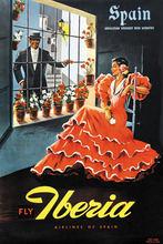 Carteles de viajes de turismo de España Iberia-España pegatina de pared clásica pinturas de lona póster decorativo Vintage hogar Bar decoración regalo(China)